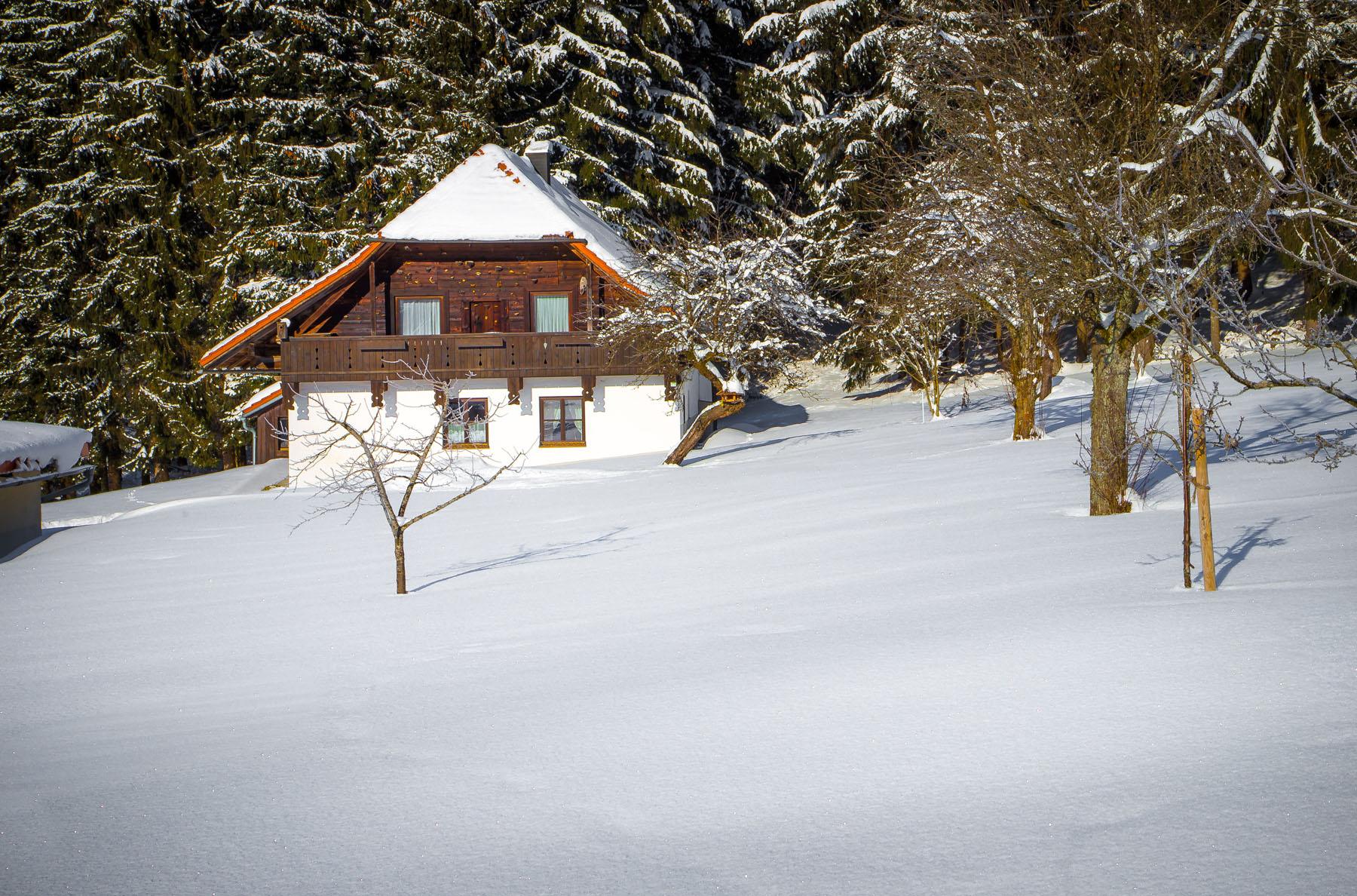 Bauernhaus Winter 3