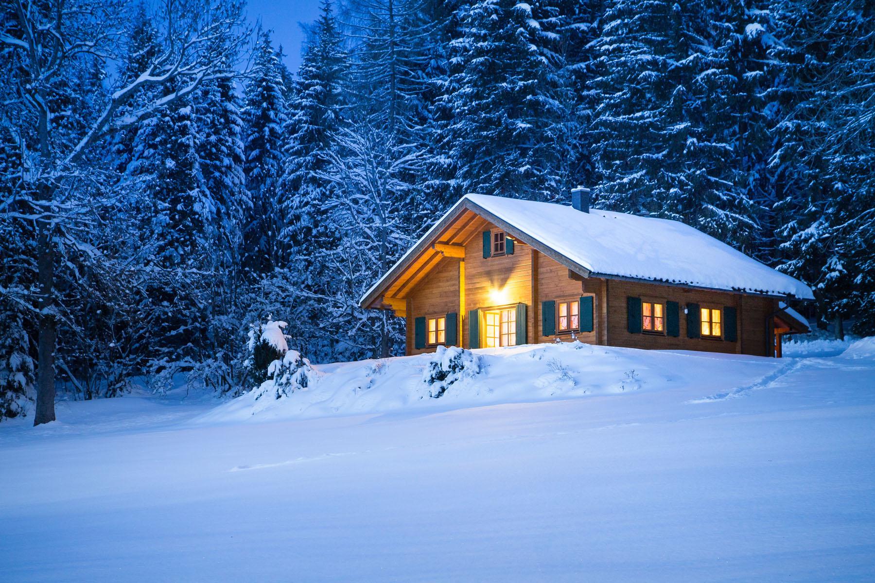 Waldhaus Winter 3